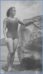 Diane Struble, 1958. Role model and inspiration (courtesy Gwenne Rippon, daughter of Ms. Struble)